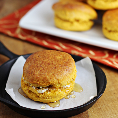 Sweet Potato Biscuits Recipe from Home Cooking Memories