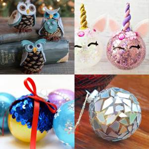 19 Homemade Christmas Ornaments to Hang on Your Tree