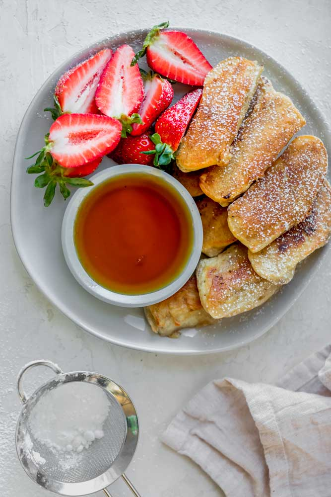 Banana Pancake Dippers from Feel Good Foodie