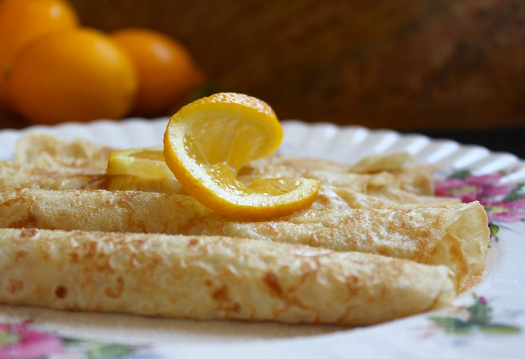 Traditional British Shrove Tuesday Pancakes from Cristina's Cusina