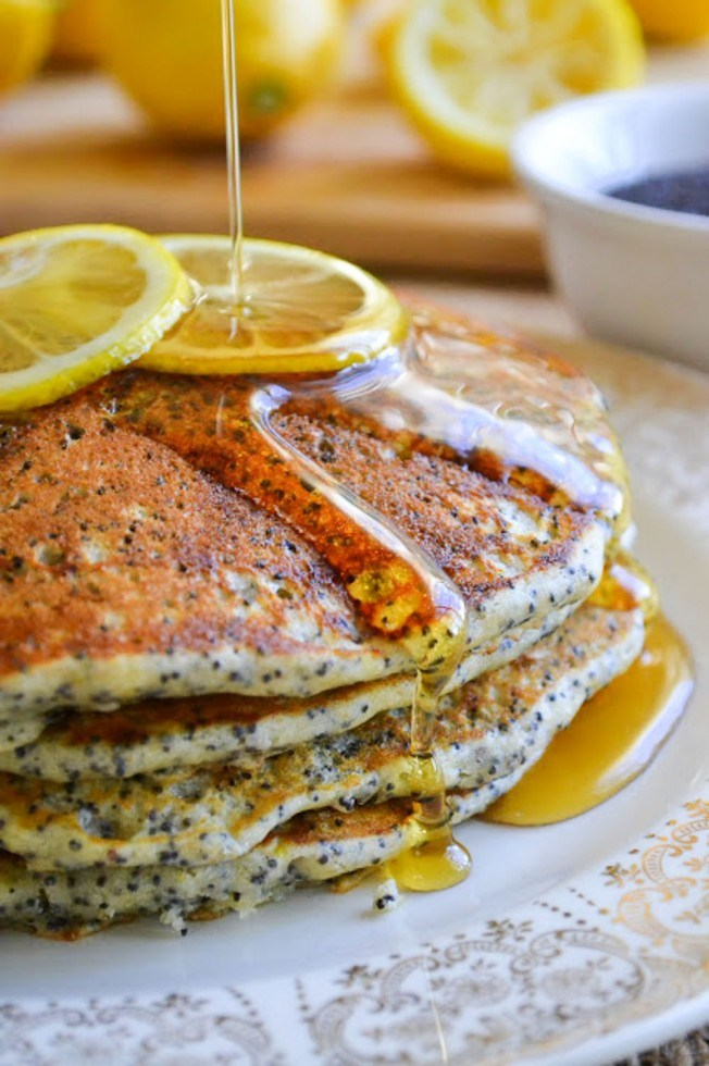 Lemon Poppyseed Pancakes from The View From Great Island
