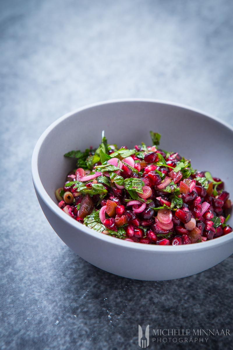 Pomegranate Salsa from Greedy Gourmet