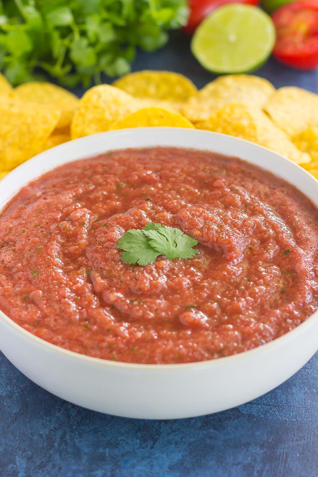 Restaurant Style Salsa from Pumpkin 'N Spice