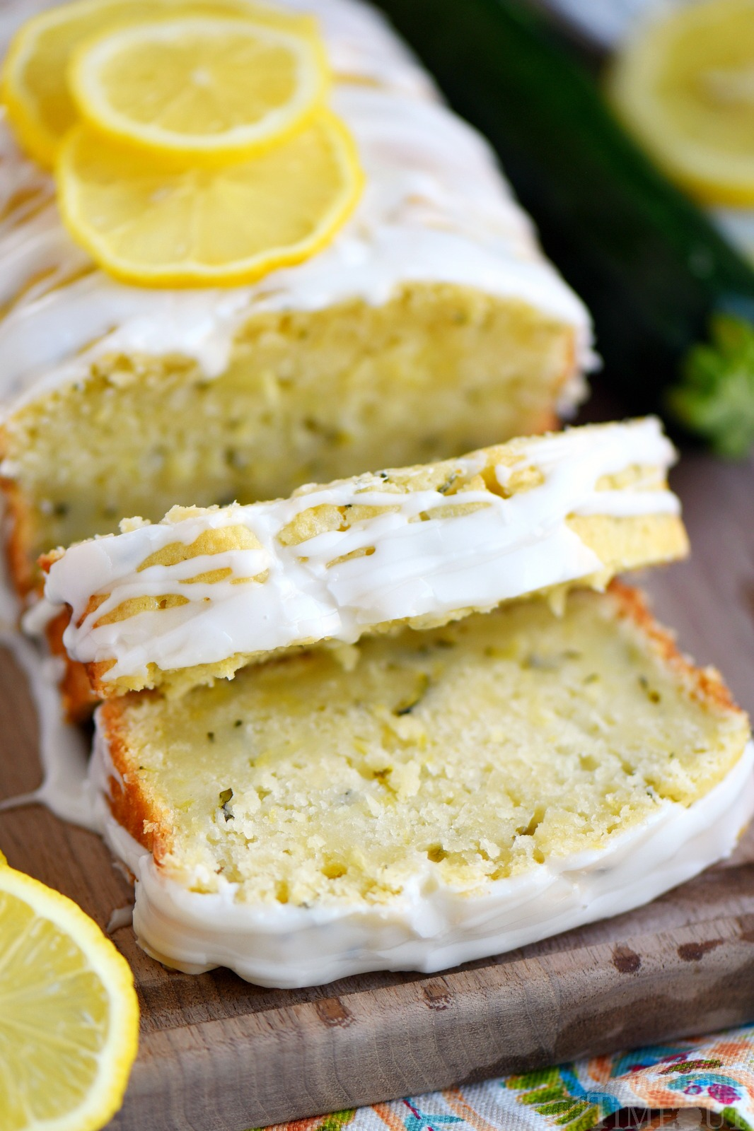 Lemon Zucchini Cake from Mom on Timeout
