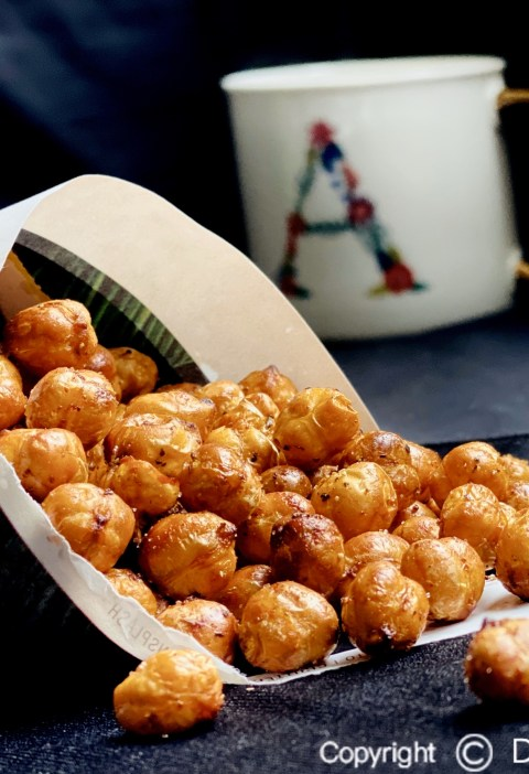 Air-fried Crispy Chickpeas