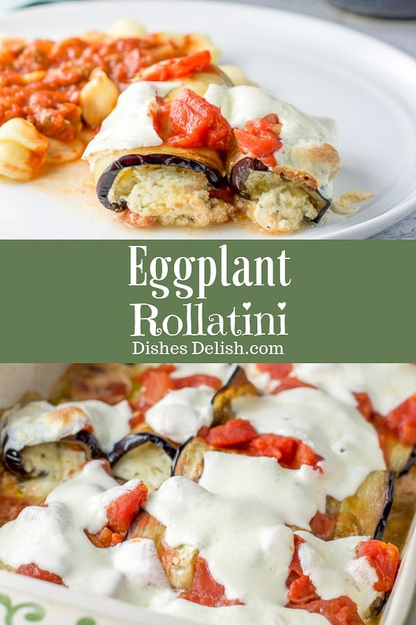 Eggplant Rollatini for Pinterest