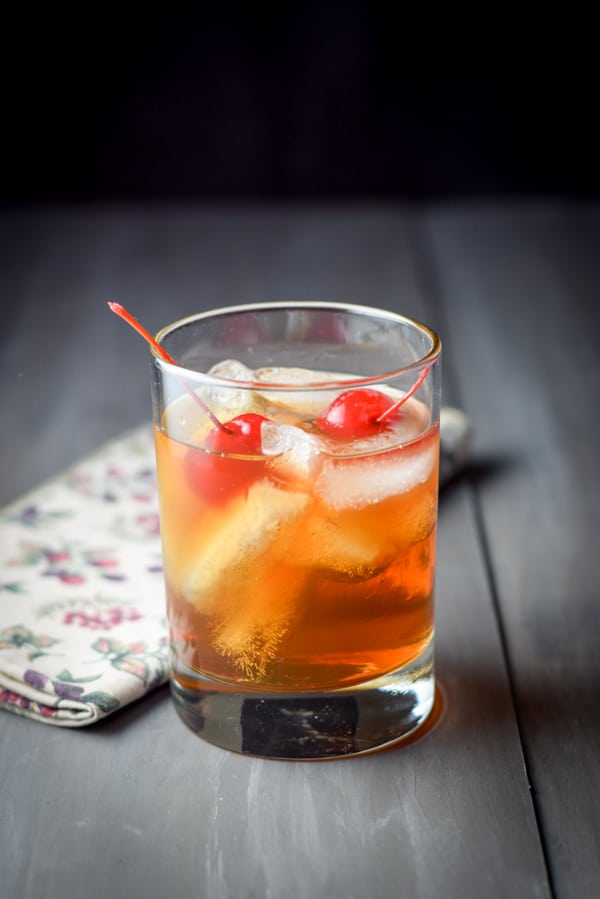 Whiskey Manhattan Dishes Delish