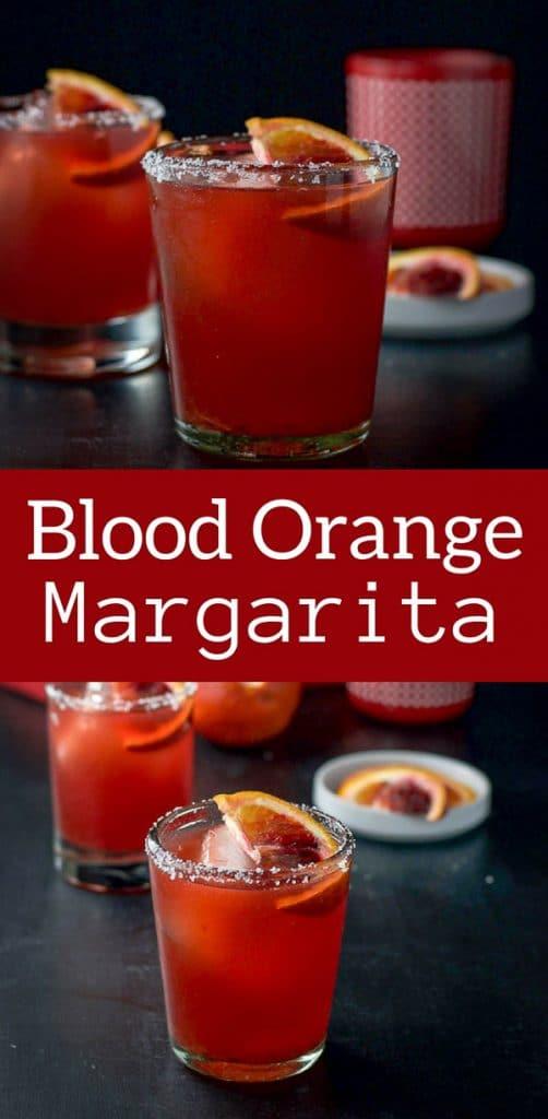 Blood Orange Margarita for Pinterest 1