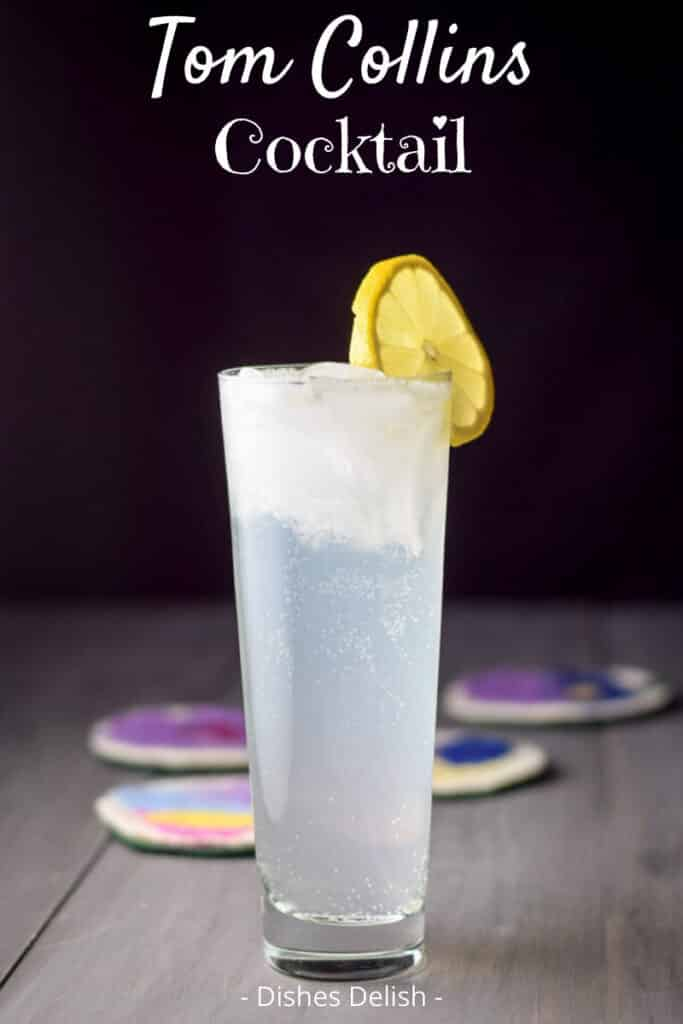 Tom Collins Cocktail for Pinterest 3