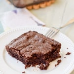 Bite out of best from scratch brownies that will make you cry