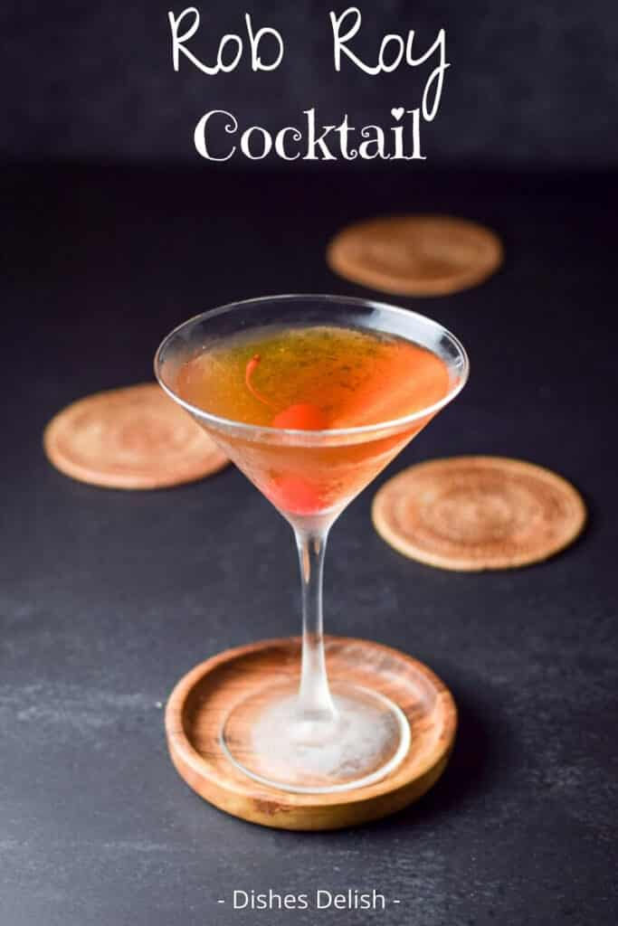 Rob Roy Cocktail for Pinterest 3