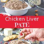 Chicken Liver Pate Recipe for Pinterest