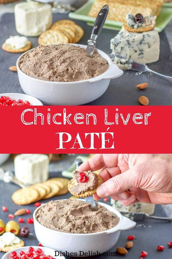 Chicken Liver Pate Recipe for Pinterest