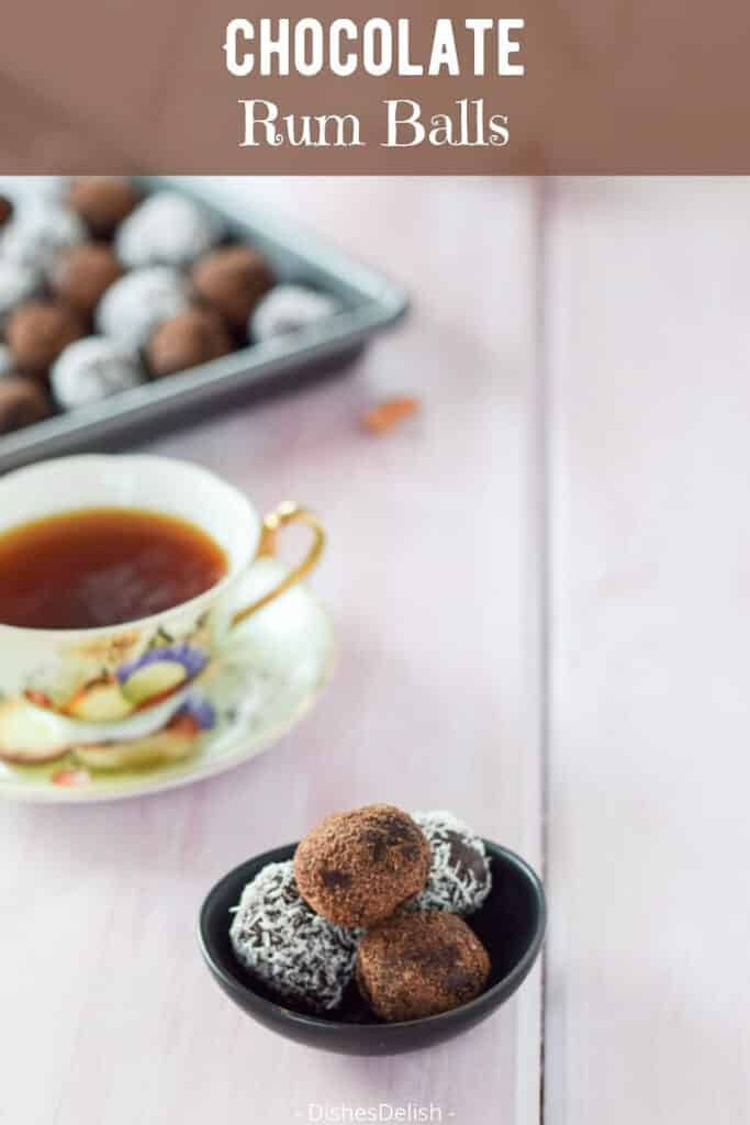 Chocolate Rum Balls for Pinterest 5