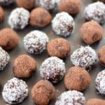 Chocolate Rum Balls for Pinterest 2
