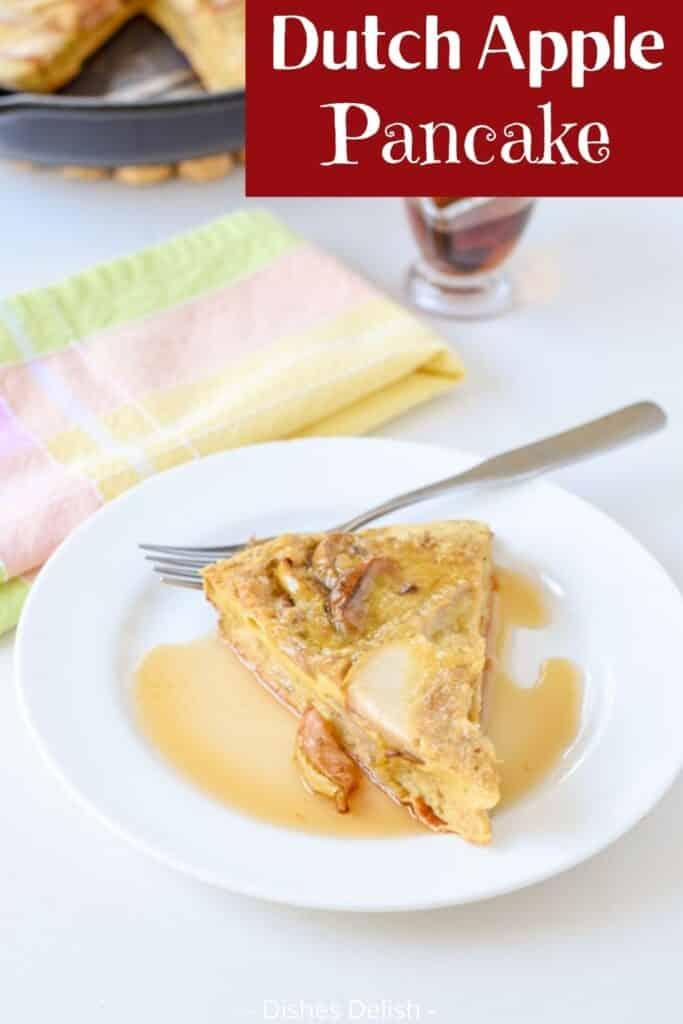 Dutch Apple Pancake for Pinterest 1
