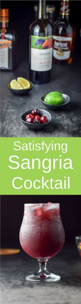 Sangria by the glass for Pinterest