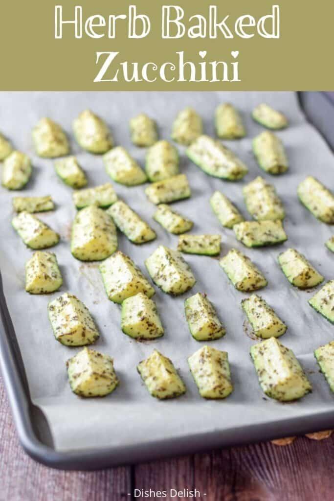 Herb Baked Zucchini for Pinterest 1