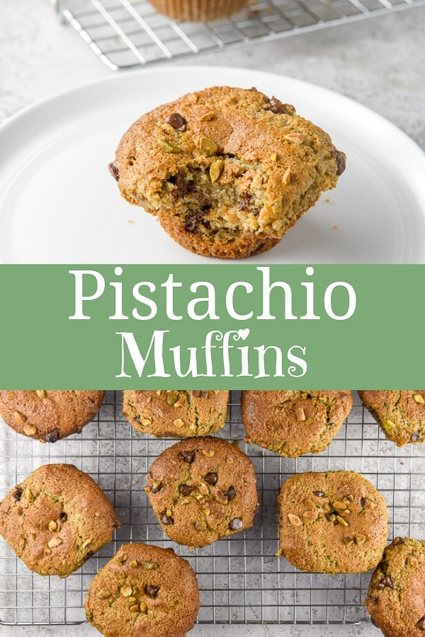 Pistachio Muffins for Pinterest-1