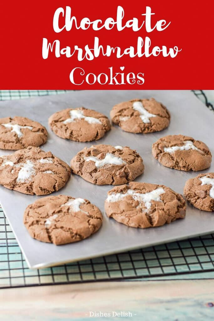Chocolate Marshmallow Cookies for Pinterest 2