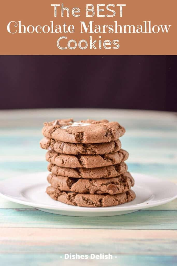 Chocolate Marshmallow Cookies for Pinterest 5