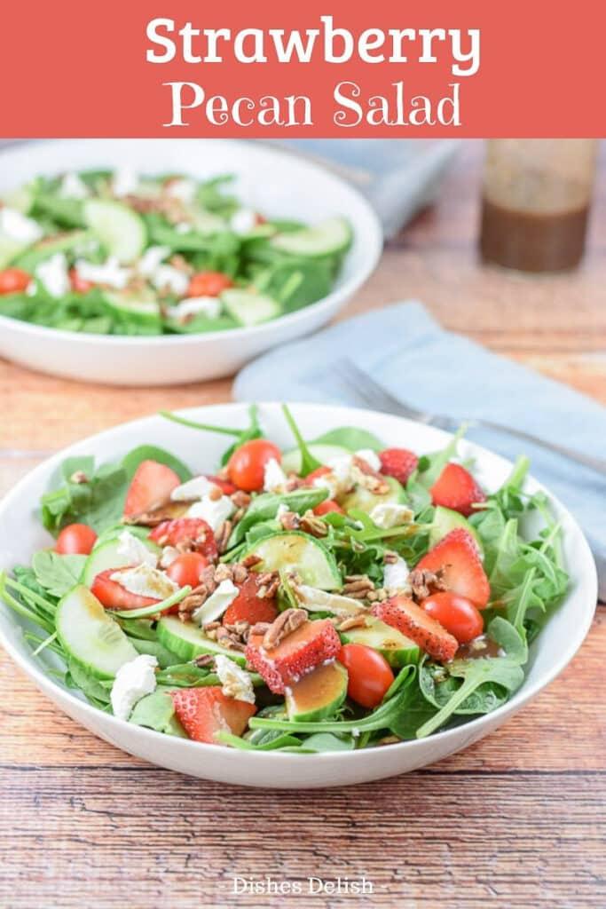 Strawberry Pecan Salad for Pinterest 2