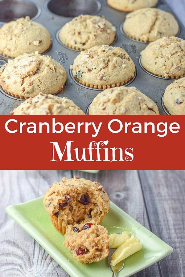 Cranberry Orange Muffins for Pinterest 1