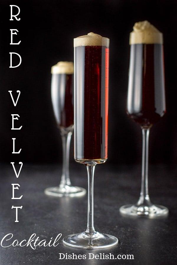 Guinness Red Velvet Cocktail for Pinterest