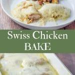 Swiss Chicken Bake for Pinterest