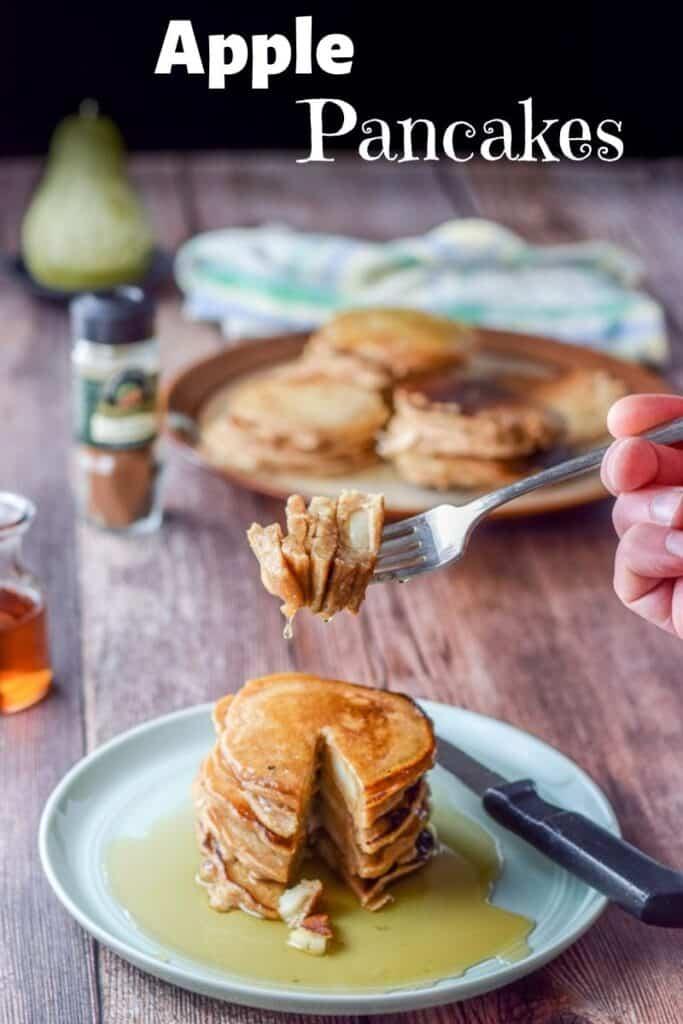 Apple Pancakes for Pinterest 6