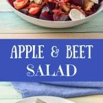 Apple and Beet Salad for Pinterest