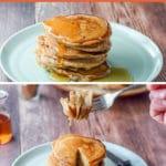 Bena's apple pancakes for Pinterest