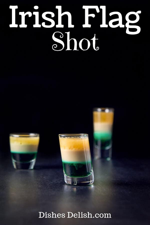 Irish Flag Shot for Pinterest