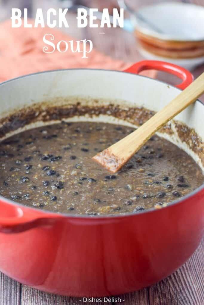 Black Bean Soup for Pinterest 3