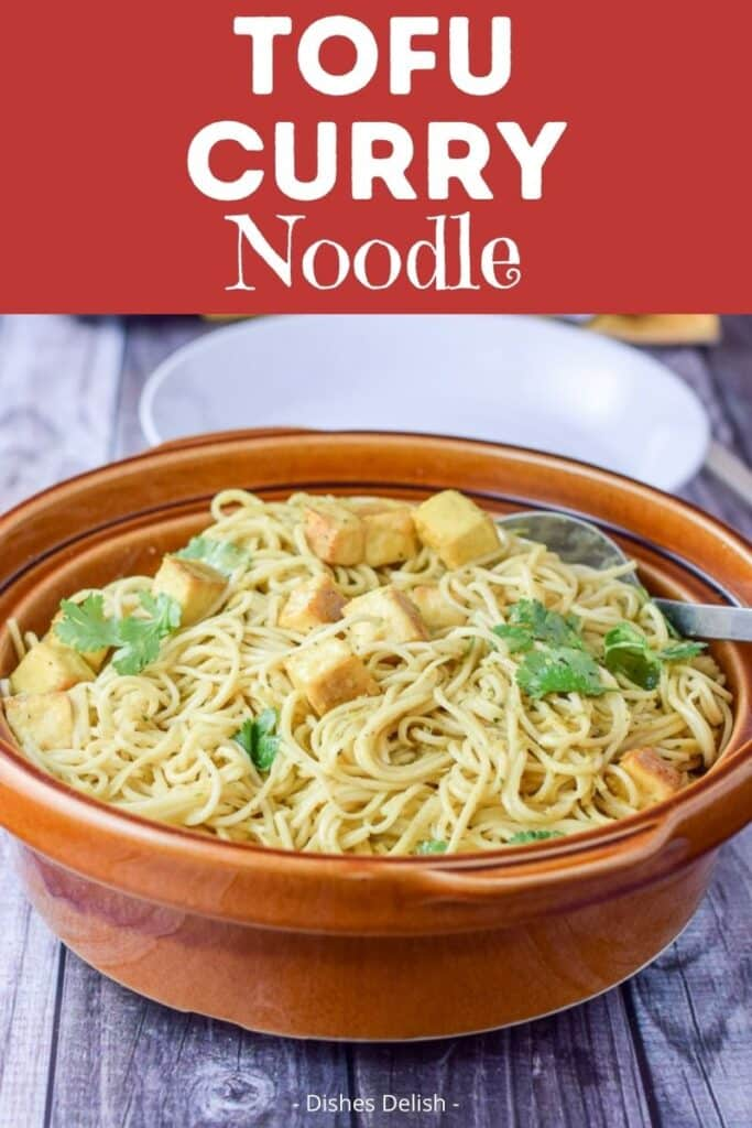 Tofu Curry Noodles for Pinterest 2