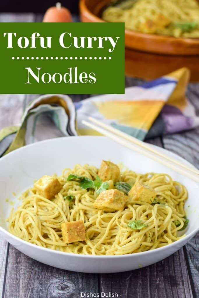Tofu Curry Noodles for Pinterest 3