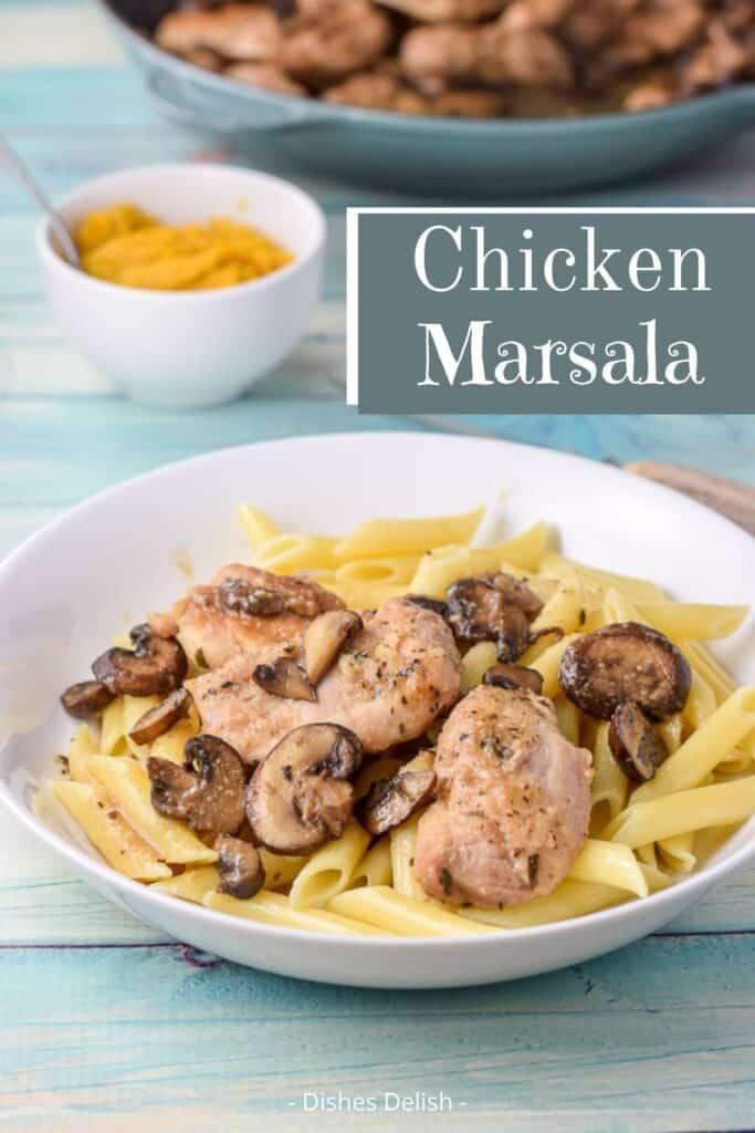 Easy Chicken Marsala for Pinterest 3