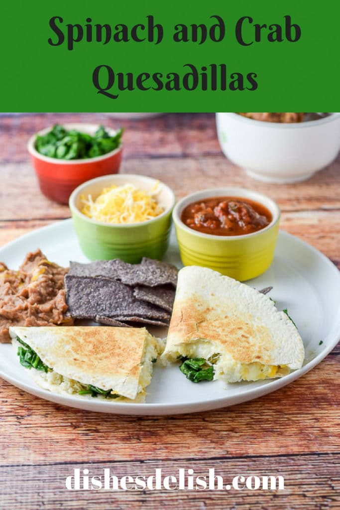 Spinach and Crab Quesadillas for Pinterest-1