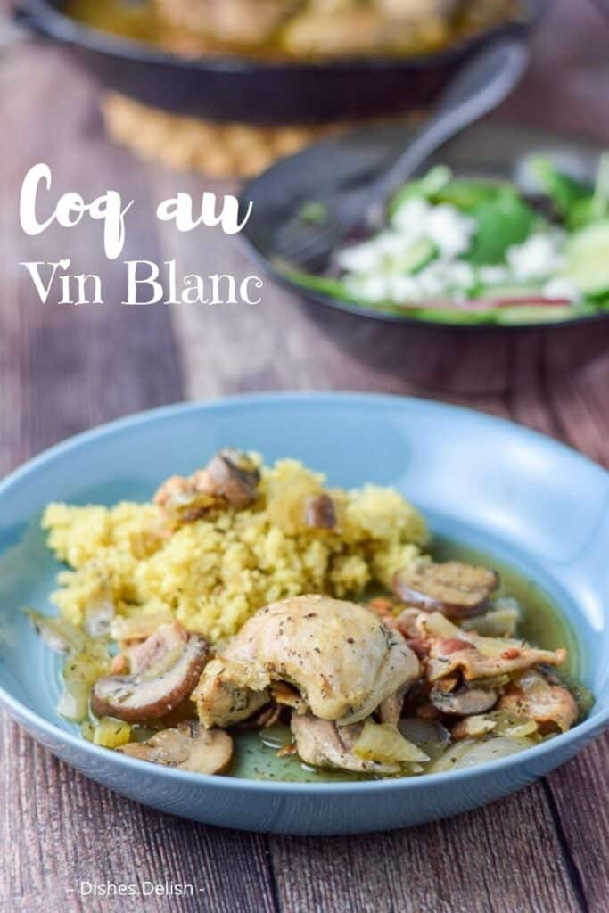 Coq au Vin Blanc for Pinterest 5