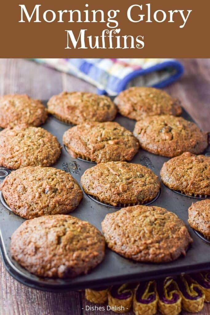 Morning Glory Muffins for Pinterest 2