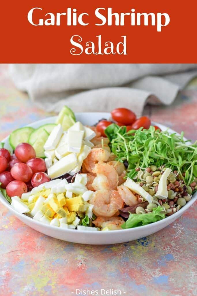 Garlic Shrimp Salad for Pinterest 2