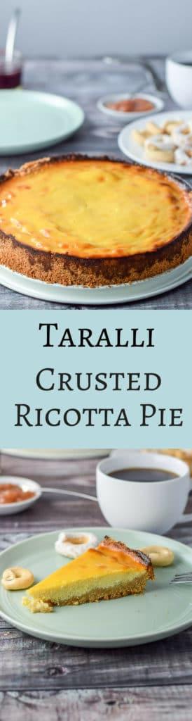 Ricotta Pie for Pinterest