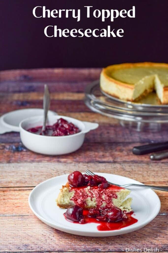 Classic New York Cheesecake for Pinterest 4