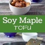 Delicious and easy sautéed soy maple tofu. A tasty tofu dish that will make you want more!