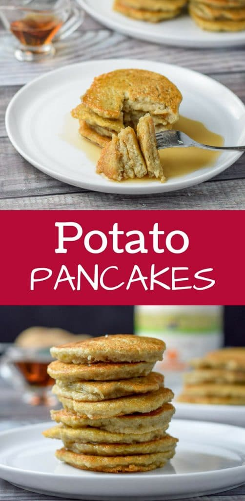 Potato Pancakes for Pinterest