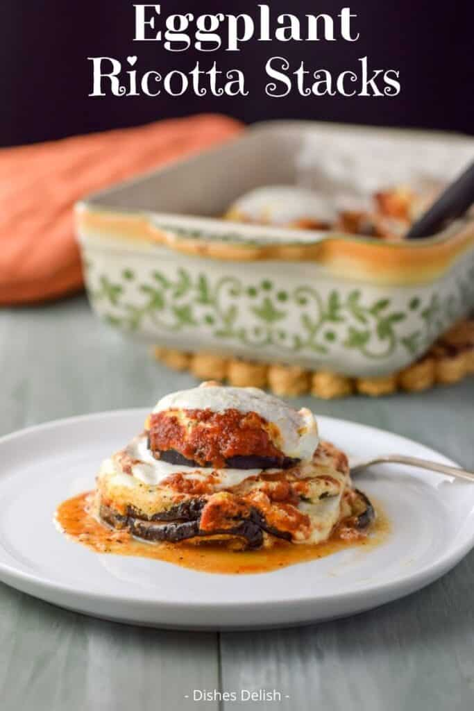 Eggplant Ricotta Stacks for Pinterest 2