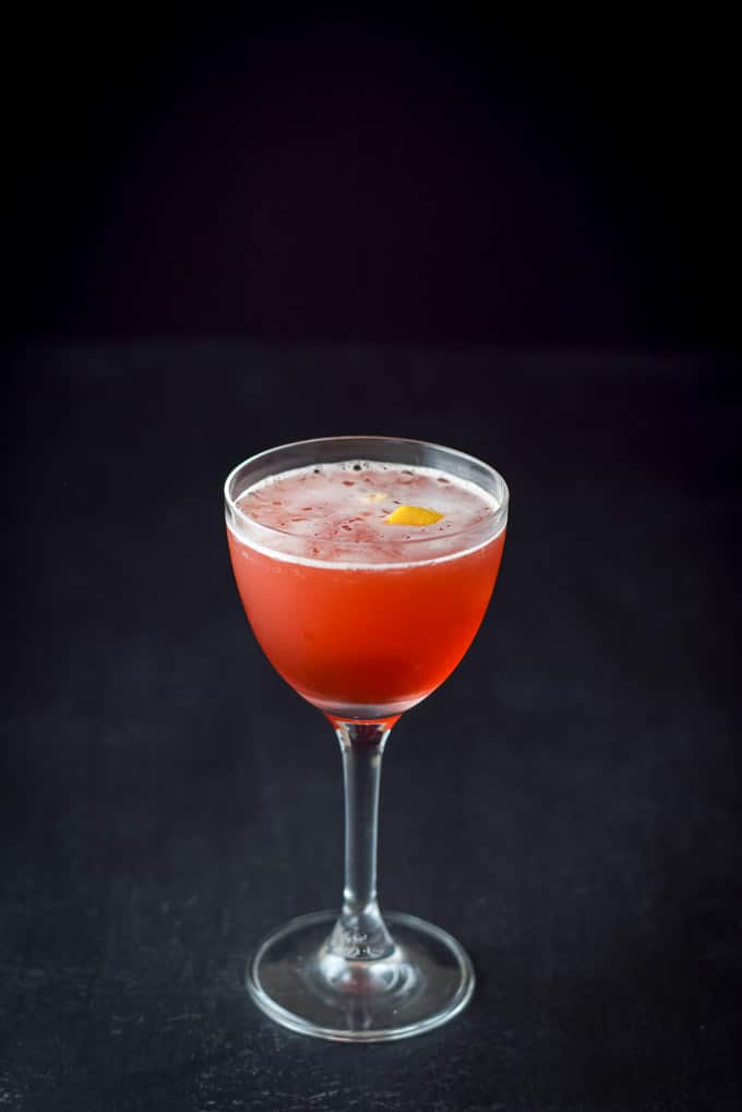 A photo of the balanced Boulevardier cocktail