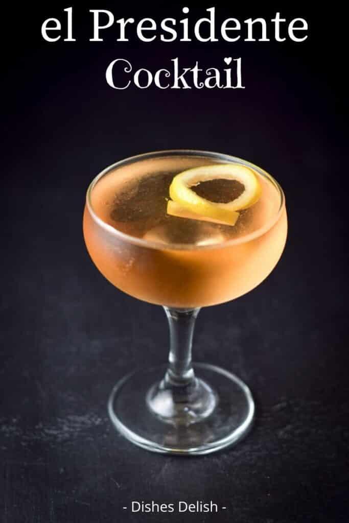 el Presidente cocktail for Pinterest 2