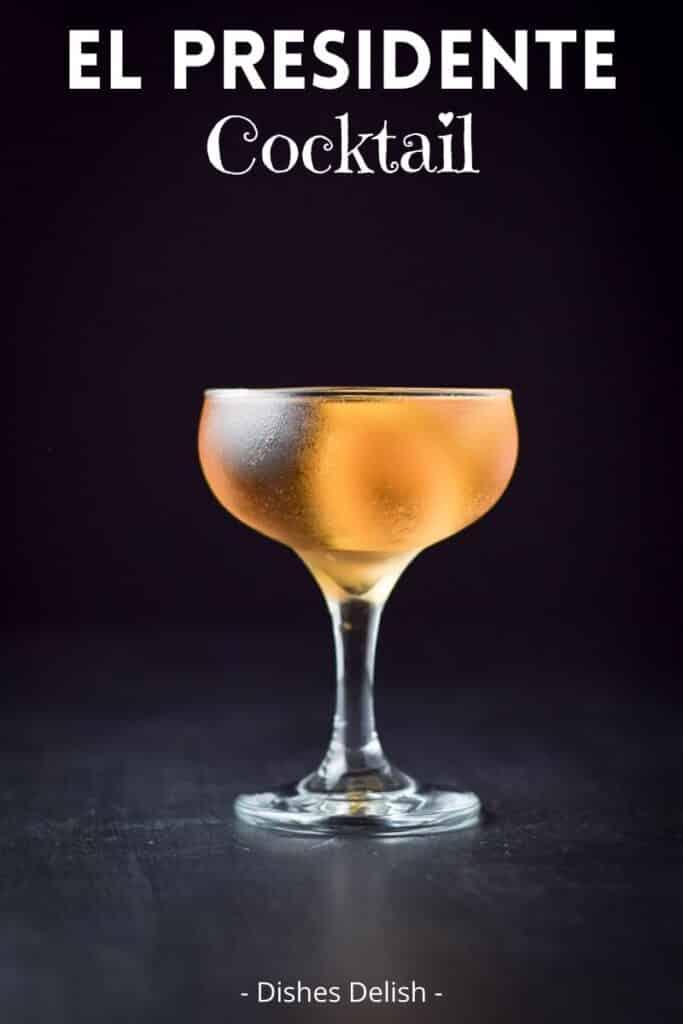 el Presidente cocktail for Pinterest 3