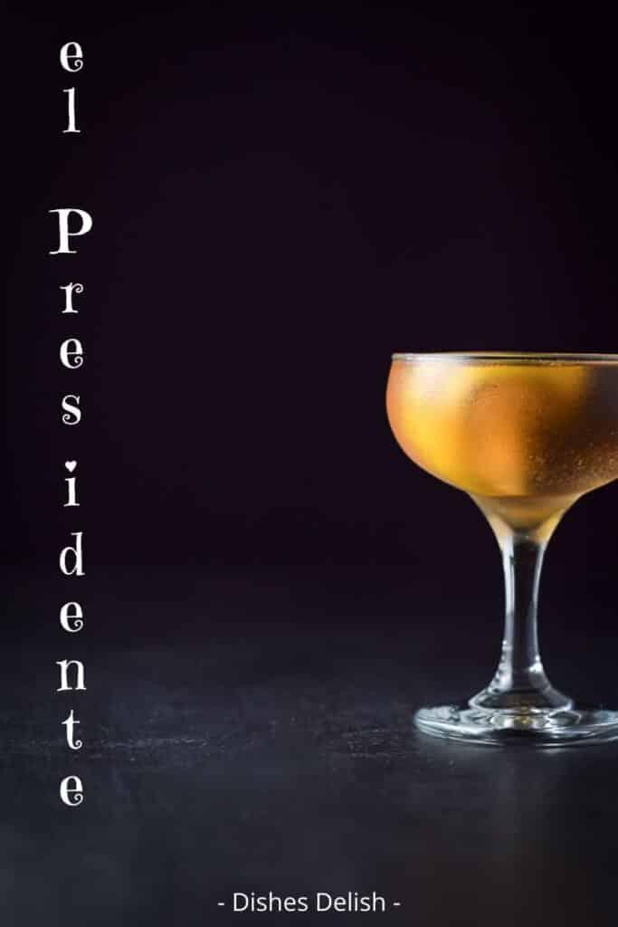 el Presidente cocktail for Pinterest 4